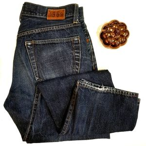 Retro GAP 1969 high rise tapered jeans